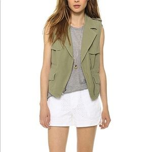 Madewell Utility zipper vest 🛵